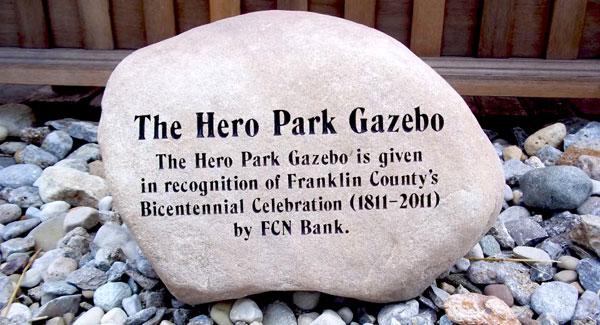 Memorial Park Stone