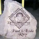Custom Engraved Stone